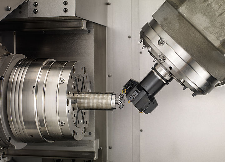 [Translate to Englisch (US):] Bevel gear cutting